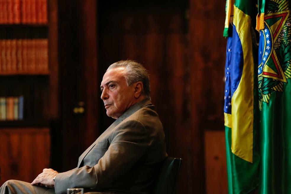 O presidente Michel Temer será investigado com autorização do Supremo (Foto: Marcos Corrêa/Presidência da República)