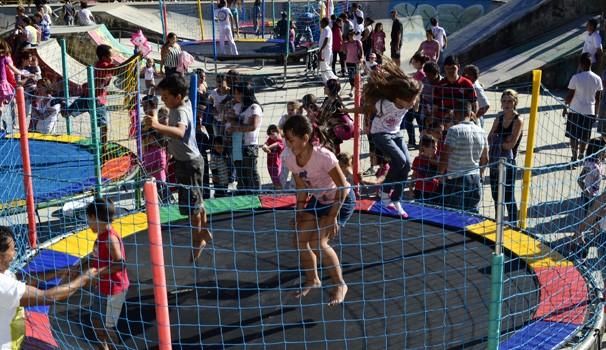 RPC TV na Praça Ponta Grossa (Foto: Divulgação/ RPC TV)