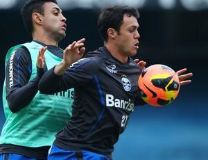 Kleber Gladiador, atacante do Grêmio (Foto: Lucas Uebel / Grêmio, DVG)