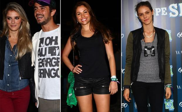 Rafae Brites, Felipe Andreoli, Maria Melilo e Laura Neiva (Foto: Iwi Onodera / EGO)