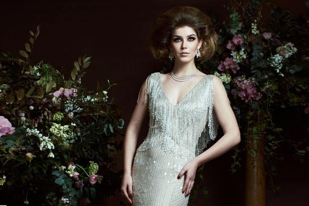 Vestido da coleção Hollywood Boulevard de Sandro Barros (Foto: Divulgação)