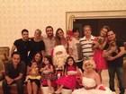 Luciano reúne família em casa nova para o Natal dos Camargo