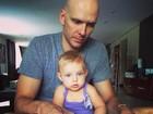 Fernando Scherer mostra foto ao lado da filha: 'Amor da minha vida'