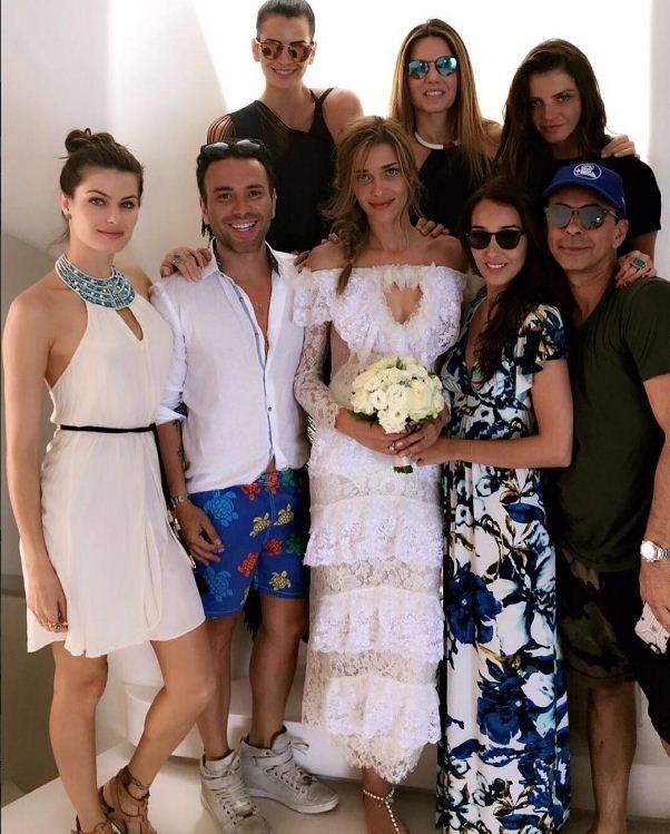 O casamento de Ana Beatriz Barros na Grécia (Foto: Reprodução/Instagram)