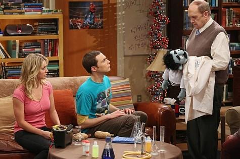 Bob Newhart em 'The Big Bang Theory' (Foto: Reprodução da internet)