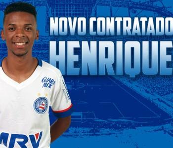 henrique; henrique bahia (Foto: EC Bahia / Divulgação)