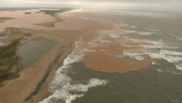 ONU detalhou consequências do acidente, como chegada da lama ao mar  (Foto: Reuters)