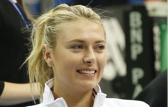 Sharapova anuncia ausência do WTA de Doha por lesão no antebraço