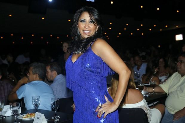 PAtrícia Nery no prêmio Estandarte do Ouro no Rio (Foto: Roberto Filho/ Ag. News)