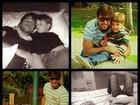 Claudia Leitte publica foto do marido com o filho: 'Só Deus concede a paz'