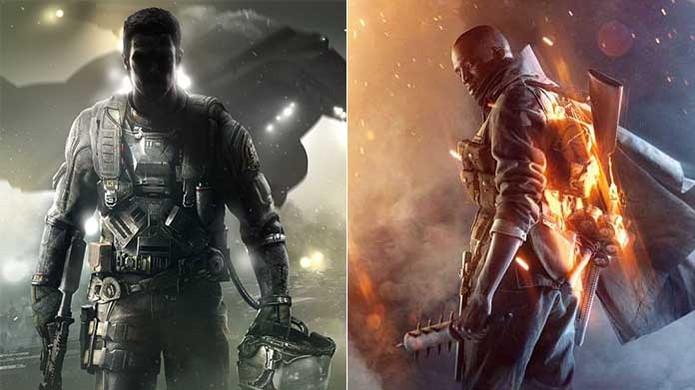 Call of Duty: Infinite Warfare x Battlefield 1: confira a comparação entre os jogos de tiro (Foto: Reprodução/Murilo Molina)