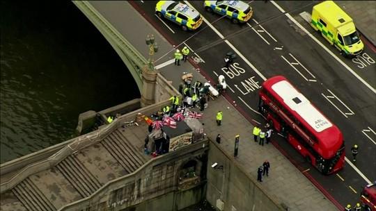 Polícia britânica acredita que autor do ataque agiu sozinho