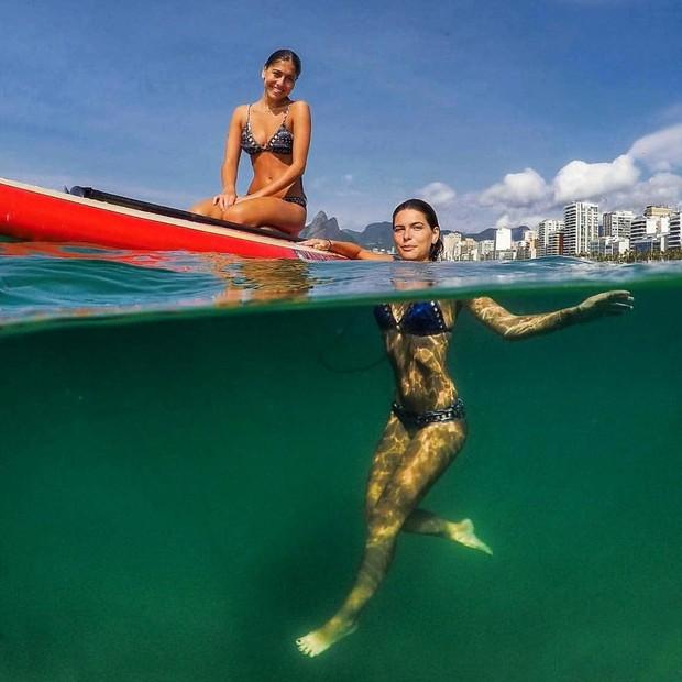 Mariana Goldfarb e irmã (Foto: Reprodução/Instagram)