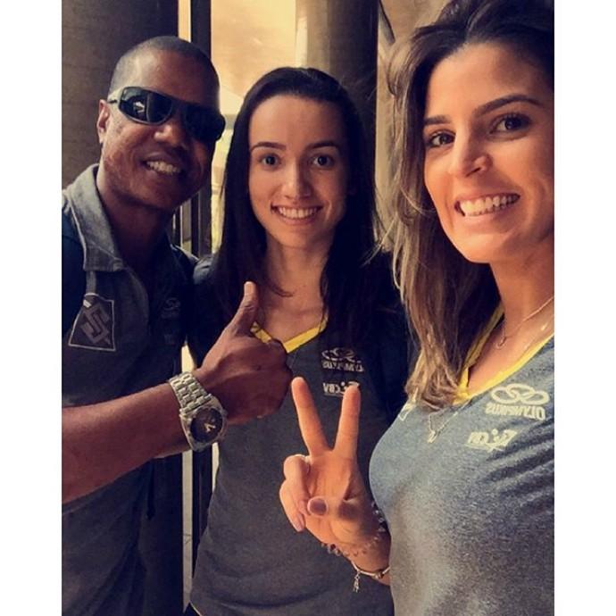 seleção brasileira, embarque, sul-americano de vôlei (Foto: Reprodução / Instagram)