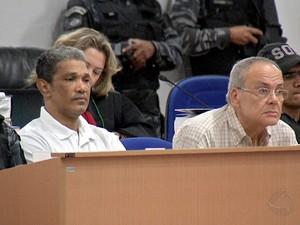 Célio Alves de Souza e Julio Bachs Mayada- Cuiabá, MT, Mato Grosso. (Foto: Reprodução/TVCA)