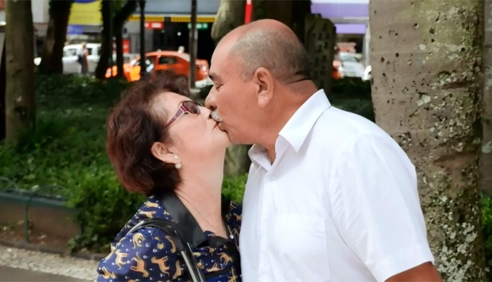 Paranaenses se inspiram em Velho Chico e contam histórias de amor (Foto: Reprodução/RPC)