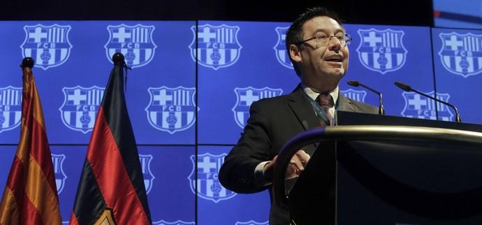 Josep Maria Bartomeu discursa Barcelona (Foto: EFE/Marta Pérez)