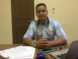 Coordenador da pesquisa Antônio Teles, da Unifap (Foto: Abinoan Santiago/G1)