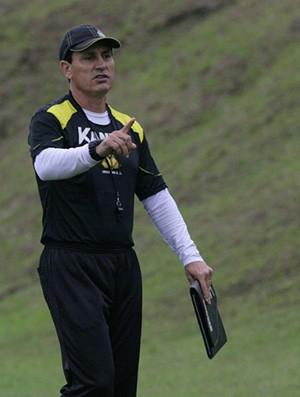 técnico do Criciúma, Paulo Comelli (Foto: Fernando Ribeiro, Divulgação / Criciúma EC)