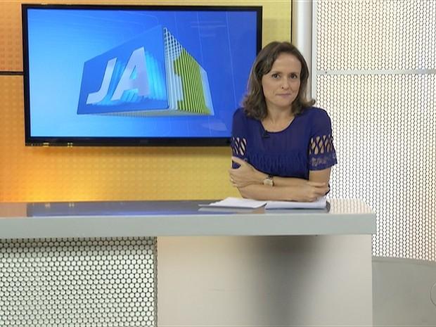 A apresentadora Jocyelma Santana mediará a série de entrevistas com os candidatos à Prefeitura de Palmas 2 (Foto: Reprodução/TV Anhanguera)