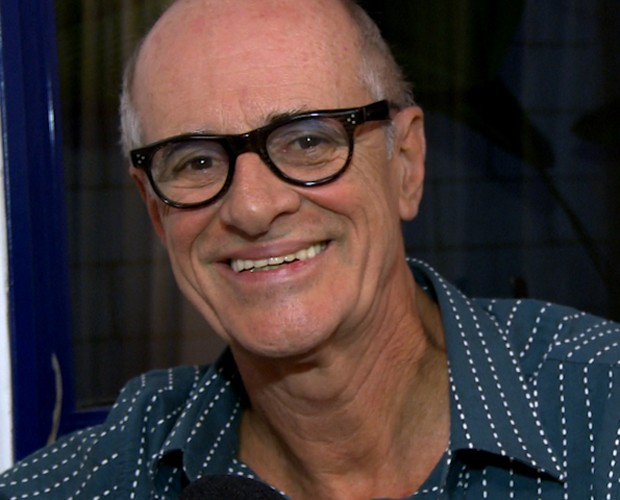 Marcos Caruso (Foto: Domingão do Faustão / TV Globo)