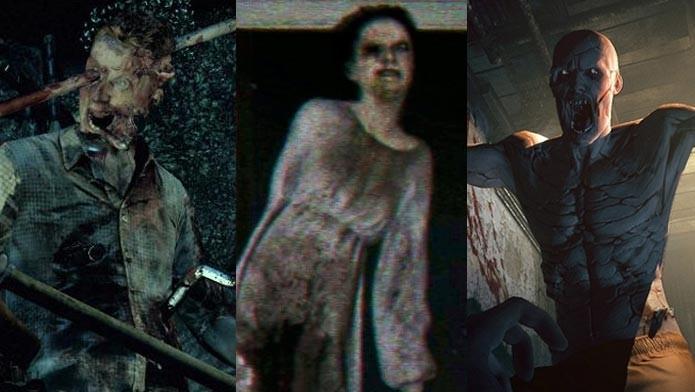 The Evil Within, P.T., Outlast: confira os melhores games de terror para o Halloween (Arte/TechTudo)