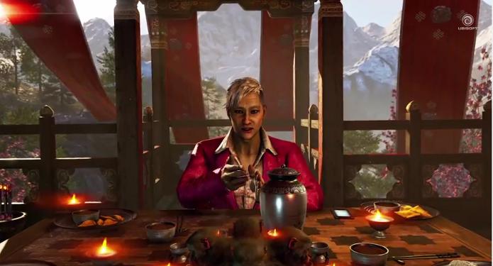 Far Cry 4: novo trailer mostra sadismo de Pagan Min, o vilão do game. (Foto: Reprodução/YouTube)