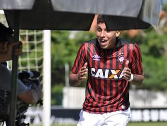 crysan atlético-pr x grêmio brasileiro sub-20 (Foto: Bruno Baggio/Atlético-PR)