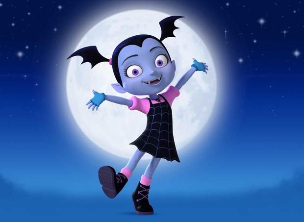 Vampirina é a nova animação da Disney Junior. (Foto: Divulgação)