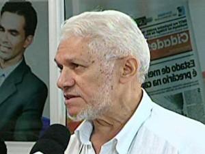Jornalista Leonardo Monteiro, presidente do sindicato da categoria (Foto: Reprodução/TV Mirante)