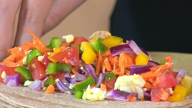 Burrito Santa Dieta (Foto: Reprodução/RBS TV)
