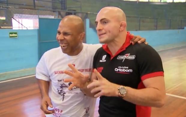 Eugênio Tadeu e Wallid Ismail (Foto: Reprodução / SporTV)