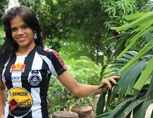 Ana Clara Morais - Musa do Cori-Sabbá (Foto: Náyra Veloso/GLOBOESPORTE.COM)