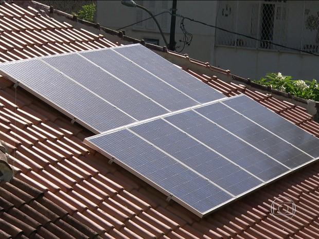 Brasil possui apenas 83 microgeradores de energia solar (Foto: rede globo)