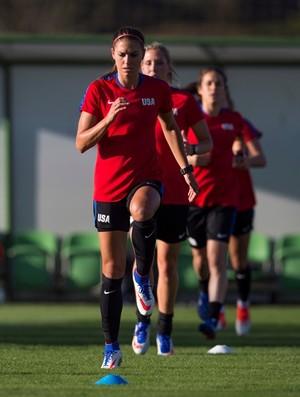 Alex Morgan seleção estados unidos futebol feminino (Foto: Divulgação)