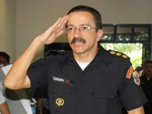 O coronel Zaqueu Barbosa foi anunciado para o comando-geral da PM. (Foto: Thais Xavier)