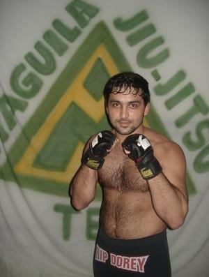 Henrique 'Sucuri' Batista, aluno da Maguila Jiu-jitsu Team e participante do TUF Brasil 2 (Foto: Divulgação/Arquivo Pessoal)