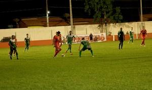 Imperatriz e Tocantinópolis ficaram no 0 a 0 em jogo amistoso, em João Lisboa (Foto: A. Pinheiro / Divulgação)