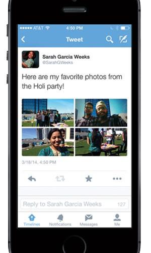 Twitter amplia para quatro o limite de fotos publicadas em uma única mensagem.  (Foto: Divulgação/Twitter)