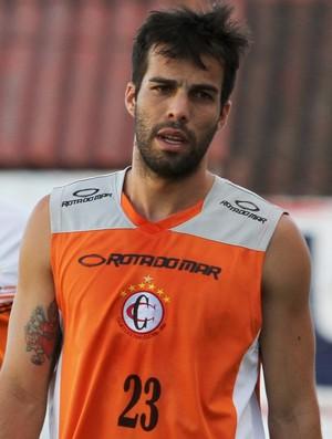 Rodrigo Dantas, atacante do Campinense (Foto: Nelsina Vitorino / Jornal da Paraíba)