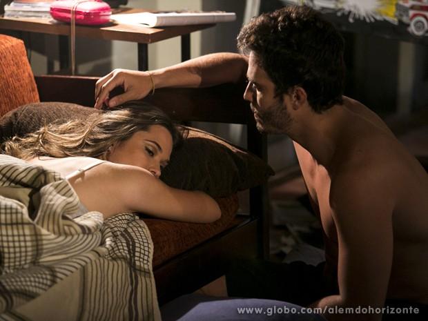 William e Lili falam sobre a Jornada com o Grupo (Foto: Felipe Monteiro/TV Globo)