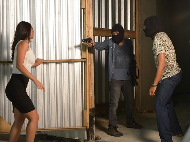 Sueli é baleada em uma tentativa de assalto (Foto: Camila Serejo/Gshow)