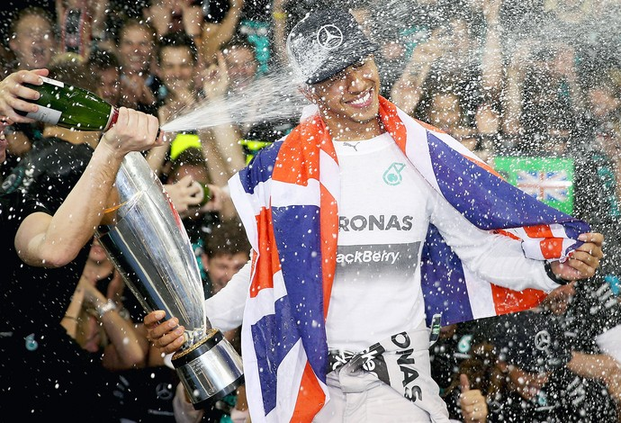 Lewis Hamilton F1 GP Abu Dhabi (Foto: Getty Images)