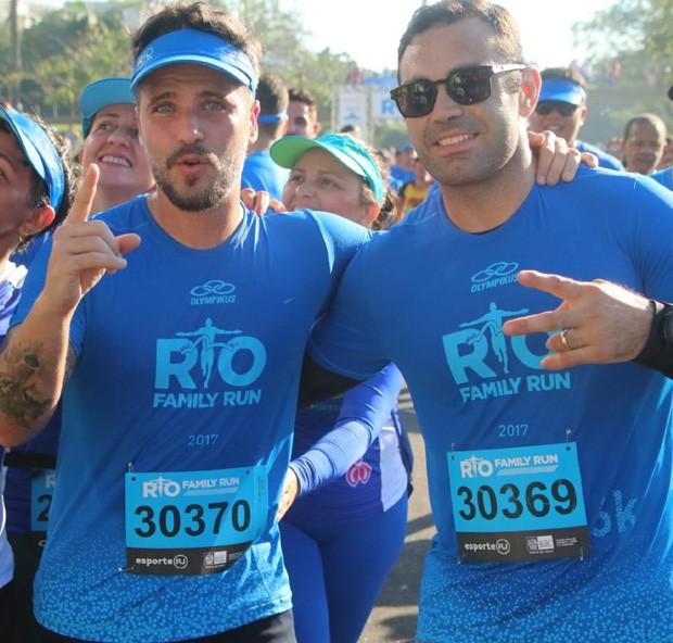 Bruno Gagliasso e Chico Salgado (Foto: Daniel Pinheiro/AgNews)
