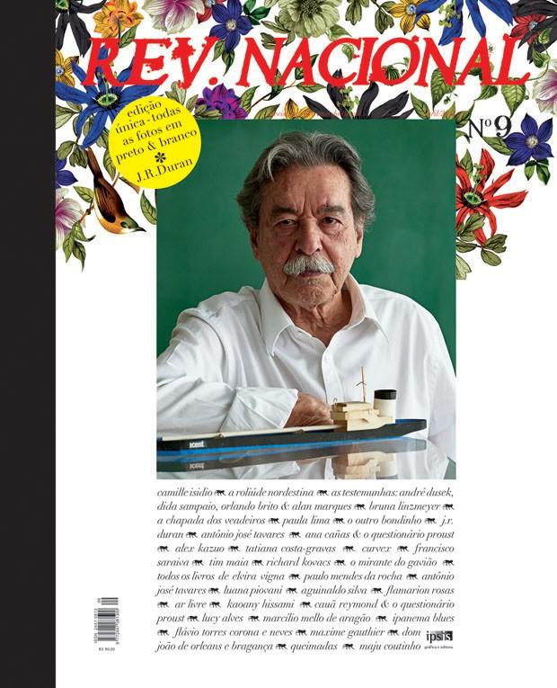 Paulo Mendes da Rocha é capa da nova edição da revista de J. R. Duran (Foto: J.R. Duran)