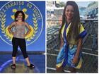 Rainha da Tuiuti coloca implante de cabelo para o carnaval