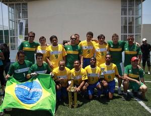 seleção brasileira de futebol de 5 (Foto: Divulgação / CBDV)