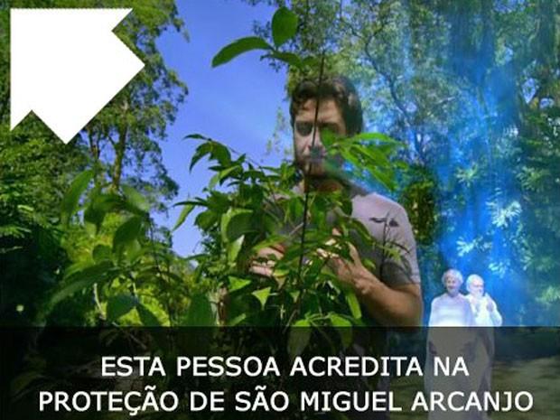 Centenas de pessoas compartilharam a imagem no Facebook (Foto: Amor Eterno Amor/TV Globo)