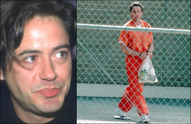 Robert Downey Jr. foi uma espécie de Lindsay Lohan na década de 90. Vivia em penitenciárias e clínicas de reabilitação por causa do abuso de drogas. Ele se livrou desses problemas de vez após decidir procurar ajuda profissional. (Foto: Getty Images)