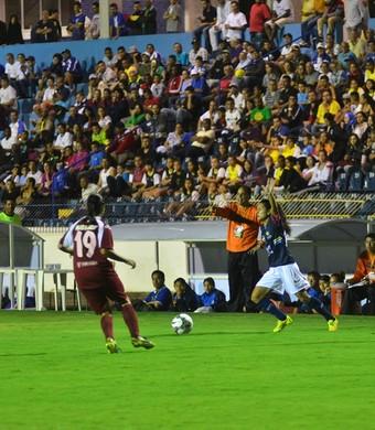 São José feminino x Real Maracana Libertadores Martins Pereira (Foto: Tião Martins/ PMSJC)